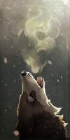 frosty howl :: by Zowato