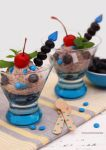 Homemade Blueberry Ice Cream by theresahelmer