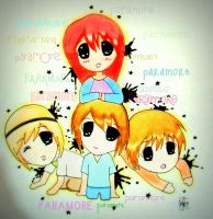 chibi paramore by redtelecaster