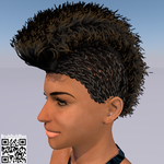 Cornrows Mohawk (Profile) by BruhDuhMan