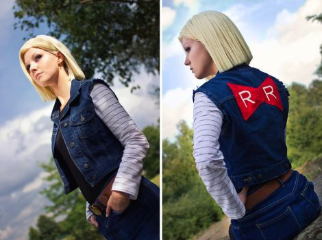 Android 18 - Red Ribbon by Lie-chee