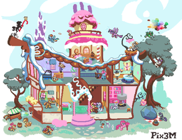 [WIP] House of Sweets, second milestone by Pix3M