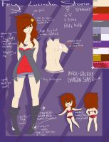 Fairy Tail Persona ref //UPDATE by coffaefox