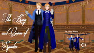 MMD Newcommer Cardverse!England by Eripmav-darkness
