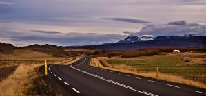 Icelandic roads 7 by Yazhubal