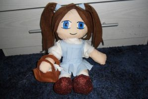 Dorothy Gale Wizard Of Oz plush by lilkimmi27