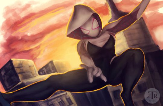 Spider Gwen Swing by To-Ka-Ro