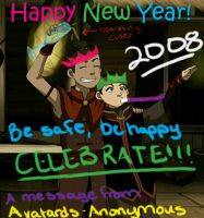 -HAPPY NEW YEAR- by Avatards-Anonymous