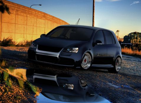 VW Golf MKV Euro by SaMuVT