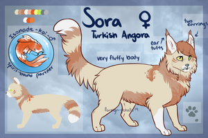 Sora ref by foreign-potato