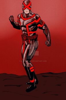 Cyclops Red Uniform by Apophys420