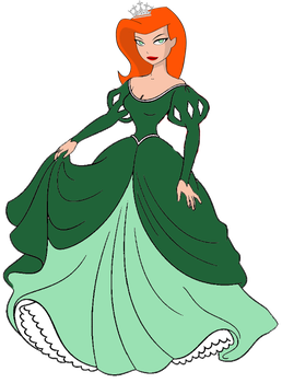 Poison Ivy as a Disney Princess by darthraner83