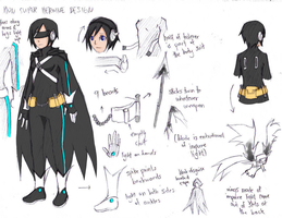 Lyn - Super Heroine Xion Concept by NaitomeIya