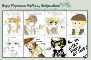 AoH : Style Exercise meme by Shumijin