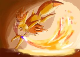 Fennekin by SuperArtNinja