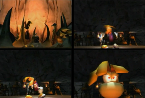Rayman 2 Style in Rayman 3 by SquizCat