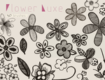 Flower Luxe - Brushes by oddhearts