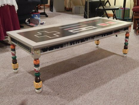 Nintendo Controller Table by x3KHloverx3