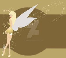 Tinkerbell by paintmepinkshop
