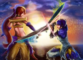 Cross Swords by RossoWinch