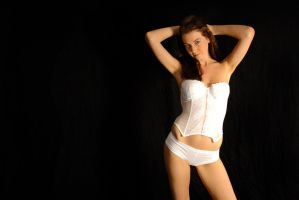 Kathryn - white corset 5 by wildplaces
