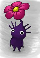 Purple Pikmin by MudSaw