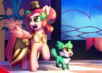 Commission: AT the Gala by bakki