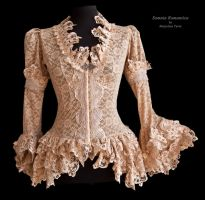 blouse blush lace, Somnia Romantica by M. Turin by SomniaRomantica
