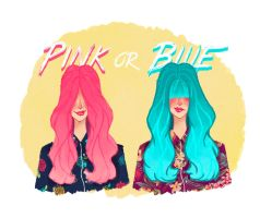 Pink or Blue ? by Misspingu