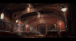 Library by vincentee