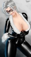 Denise as Black Cat by megaween