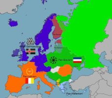Pan-Nations of Europe by LoreC10