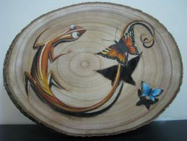 lizard by vstattoo