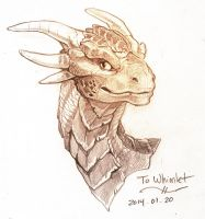 Draco from Dragonheart by Whimlet