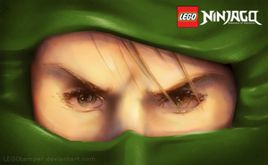 The Green Ninja by skcolb