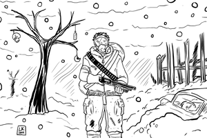 Nuclear Winter Wonderland by EarthmanPrime