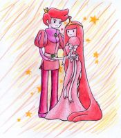 bubblegum princess and gumball prince by Aino-Fred