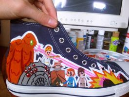 Ghibli Shoes- Nausicaa by clmcmillion
