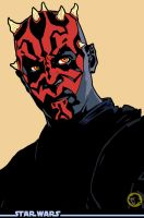 Darth Maul, another shot... by BongzBerry