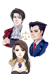 Ace Attorney by drchopper7