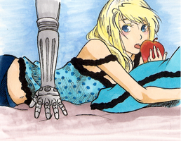 Romeo and Cinderella Winry by fullxmetalxgir