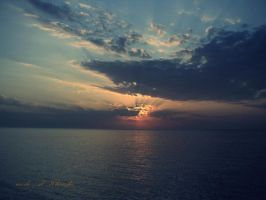 Sunset by me6o