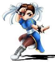 Chun-Li Chibi by ExoroDesigns