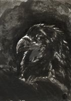 Ink Eagle by PickedPockets
