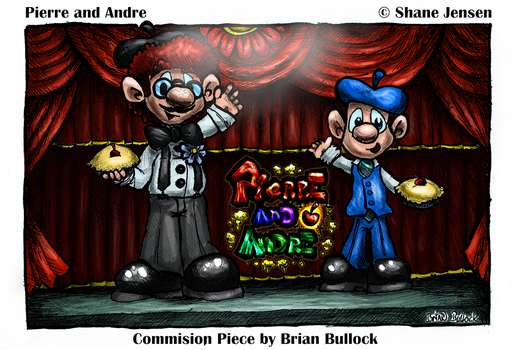 Pierre and Andre by BellCountyComics