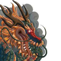 Muramasa Dragon God by ElBrazo