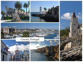 Postcard - Cascais, Portugal by jpgmn