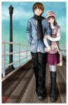 A Walk Down the Pier by sakura13