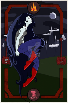 Marceline and the Moon by Lt-Silverthorn