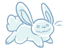 Ghost Rabbit by MBPanther